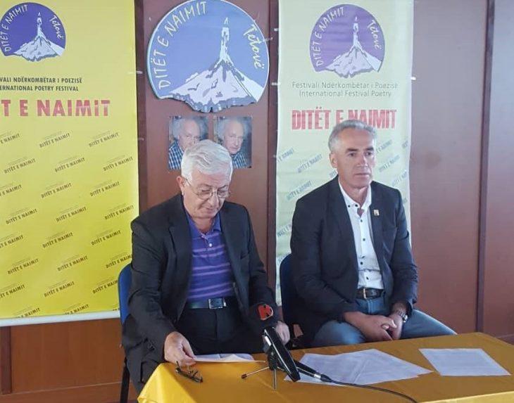 """Konferencë shtypi e Jurisë së Festivalit Ndërkombëtar të Poezisë """"Ditët e Naimit"""""""