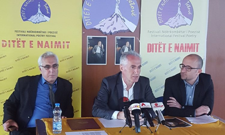 "21st Edition of the International Poetry Festival ""Ditët e Naimit"""