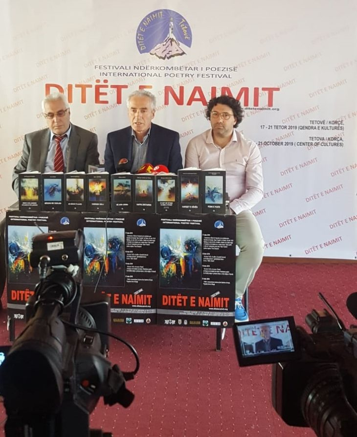 """Konferencë shtypi e Drejtorisë së FNP """"Ditët e Naimit"""".   TË ENJTEN FILLON EDICIONI I XXIII I FNP """"DITËT E NAIMIT"""""""